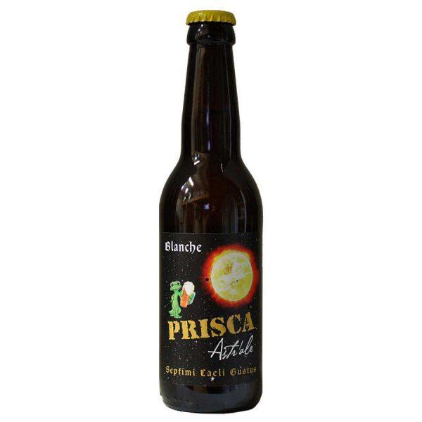 Astr'ALE bière blanche artisanale de la brasserie Prisca