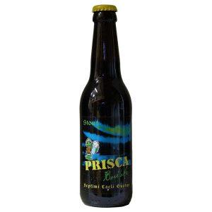 Bière brune Stout artisanale - La Boré'Ale de la Brasserie Prisca