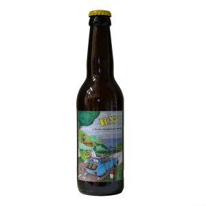 RN7 Citronnée bière artisanale de la brasserie Prisca